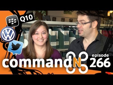 commandN 266: BlackBerry Q10, Facebook Home & Mitch Joel