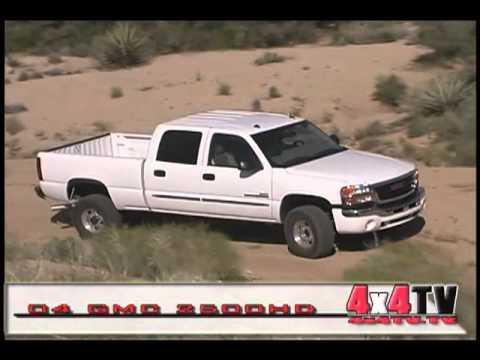 4x4TV Test - 2004 GMC 2500HD CrewCab Diesel 4x4