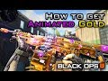 How To Get the ANIMATED GOLD CAMO in CoD BO4! Purple Glow Upgrade! [Black Ops 4 Titan LMG Gameplay]