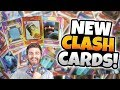 NEW CLASH ROYALE CARD GAME! NEW COLLECTIBLE CLASH CARDS! HOBBY BOX OPENING!