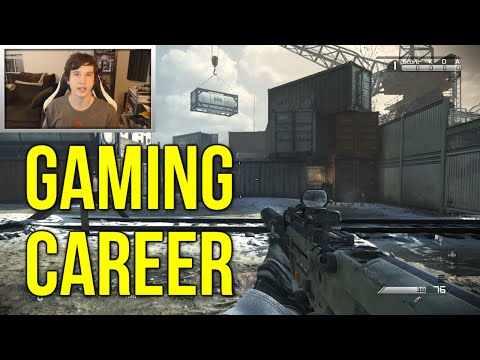 Gaming Career Advice (CoD Ghosts Gameplay Commentary)