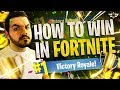 HOW TO WIN MORE IN FORTNITE!!! - Coach CouRage! (Fortnite: Battle Royale)
