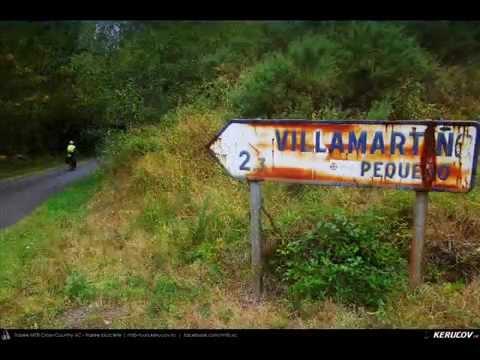 VIDEOCLIP Traseu MTB El Camino de Santiago del Norte - 9: Vilela - Gondan - Lourenza - Mondonedo - Gontan