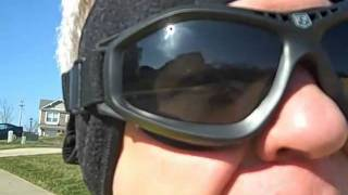80080cb2301 Bullet Ant Goggle By Revision - YouTube