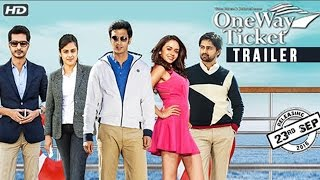 ONE WAY TICKET | Official Trailer | Sachit Patil, Shashank Ketkar, Amruta | New Marathi Movie 2016