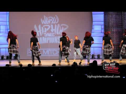 ReQuest (New Zealand) at HHI 2011 World Finals - Defending Champions