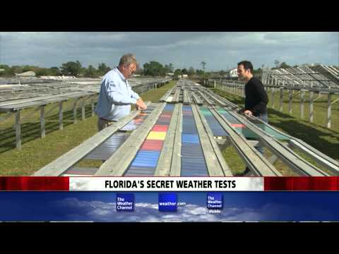 Weather Story on Florida Outdoor Testing