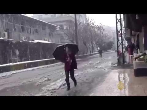 فيديو .. ستة قتلى في لبنان وسوريا جراء العاصفة الثلجية هدي