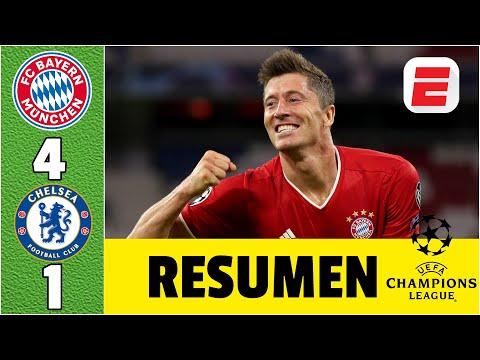 Bayern Munich goleó al Chelsea del entrerriano Caballero y liquidó la serie