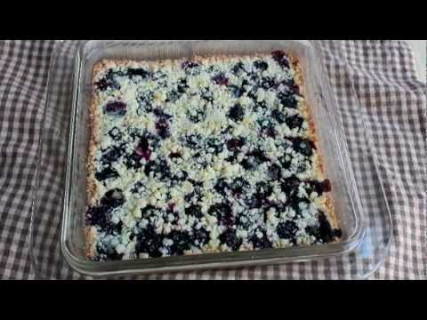 Blueberry Shortbread Bars - Easy Summer Fruit Shortbread Cookie Bars - UCRIZtPl9nb9RiXc9btSTQNw