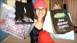 mooshville – GIANT HAUL: Lush,Sephora, Free People,Brandy Melville and more
