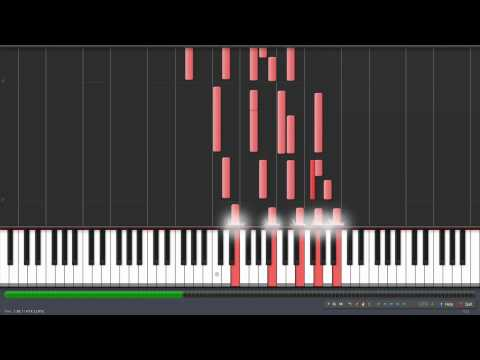 2 Pac - Changes Piano With Synthesia