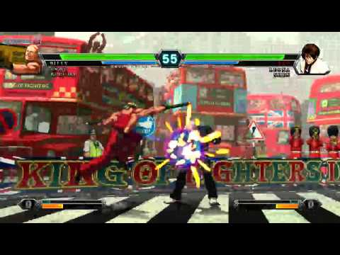 [KoF13] Mad KOF VS GUTS - Offline Casual Matches at Cafe Id