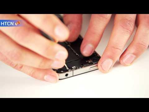 Remplacement appareil photo arrière iphone 4