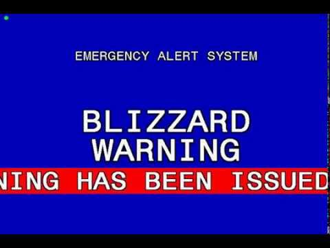 Emergency Alert System: Duluth Blizzard Warning