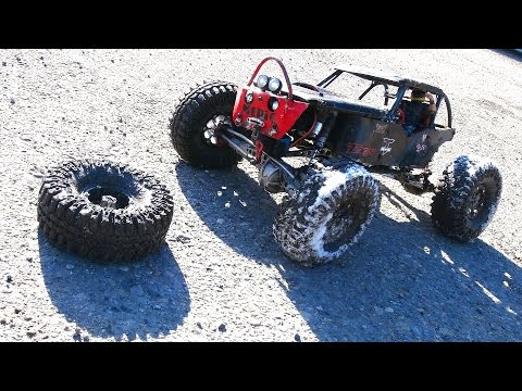 RC ADVENTURES - Busted Wheel - The Black Widow - Custom 4x4 Offroad Axial Wraith - UCxcjVHL-2o3D6Q9esu05a1Q