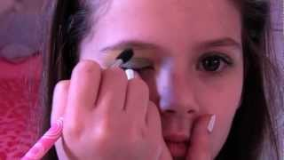 Spring Makeup Look/Tutorial for Kids by Emma