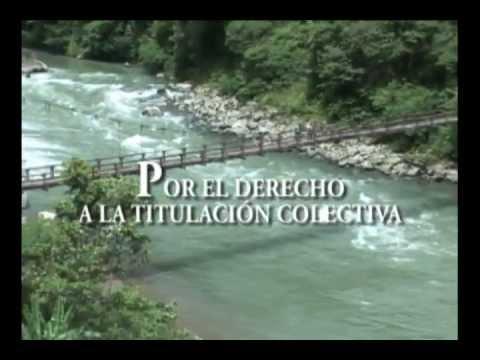 Por la Titulación Colectiva en el Alto Atrato Chocoano