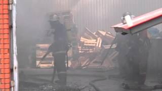 Пожар на автовокзале в Бердичеве