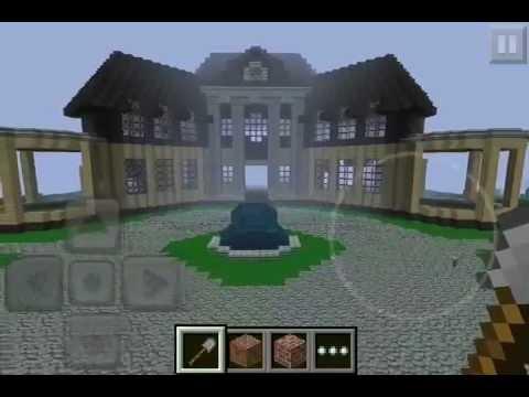 minecraft pe mansion download