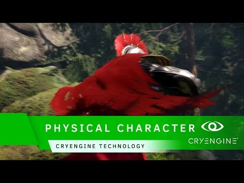 CRYENGINE Physicalized Character Customization