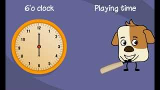 Clock Reading, Learn to Tell Time