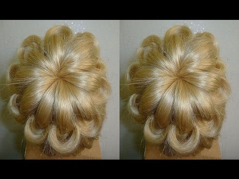 Easy und Quick Prom/Wedding Hairstyle.Evening Updo Hairstyles Tutorial.Penteados