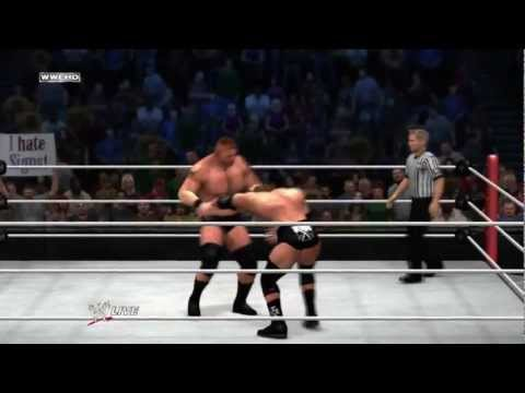 WWE Summerslam 2012: Triple H vs Brock Lesnar 2012