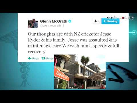 Cricket fraternity reacts to attack on Jesse Ryder