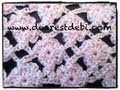 Crochet Flower Lattice Stitch