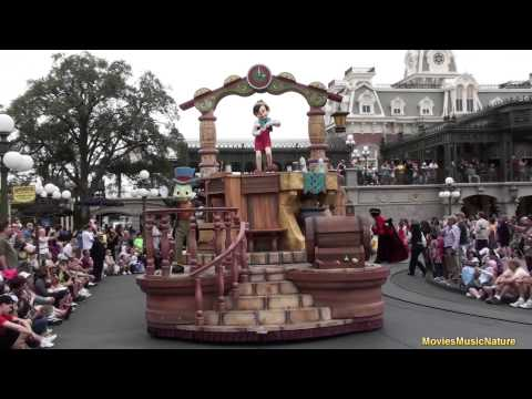 Celebrate A Dream Come True Parade 2012 - Magic Kingdom - Walt Disney World
