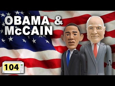 Is It A Good Idea To Microwave Obama & McCain?