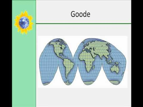 Latitude, Longitude, and Types of Map Projections Part 2