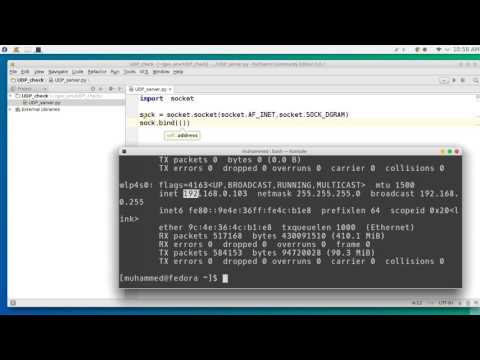 28  Python network programming UDP
