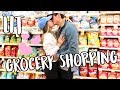 LIT GROCERY SHOPPING ADVENTURES! VLOGMAS DAY 5!