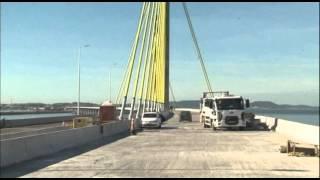 Passeio pela ponte Anita Garibaldi Laguna