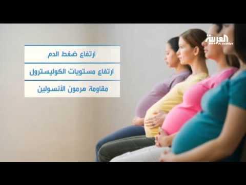 شاهد ماذا يؤثر الوزن الزائد على المرأة بعد الولادة قد تتعرض للسكري وأمراض القلب