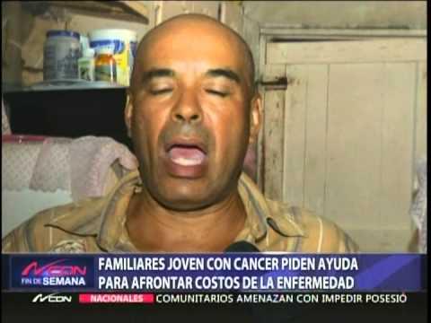 Familiares joven con cáncer piden ayuda para afrontar costos