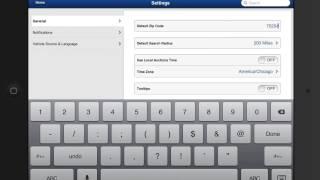 Mobile: Choosing Your Settings
