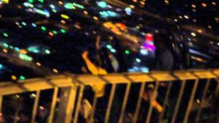 Las Vegas Stratosphere X-Scream Ride at night HD 1080p!!!