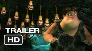 The Croods Official Trailer (2013) - Nicolas Cage, Emma Stone Movie HD