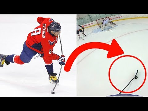 USING OVECHKIN'S STICK! | 3 on 3 GoPro Hockey
