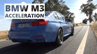 BMW M3 3.0 R6 431 KM (Unofficial) - acceleration 0-100 km/h