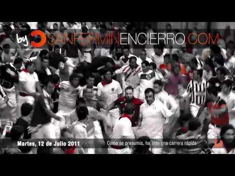 Encierro 12 de Julio 2011 - Victoriano del Río
