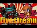 S PŘÍTELKYNÍ HRAJEME MINECRAFT! - Minecraft Minihry Livestream