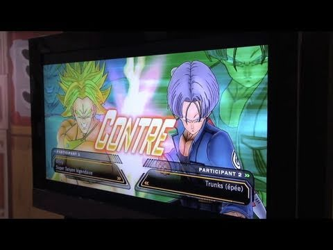 Japan Expo 2011 : Dragon Ball Z Ultimate Tenkaichi (Broly vs Trunks)