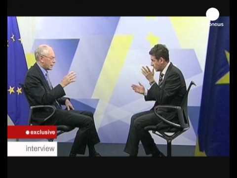 euronews interview - Herman Von Rompuy : Il faut d-abord que la confiance...