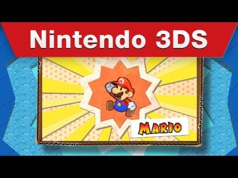 Nintendo 3DS - Paper Mario: Sticker Star E3 Trailer