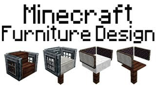 Minecraft Furniture Designs minecraft furniture - design tutorial - no-physics and bomberpig's