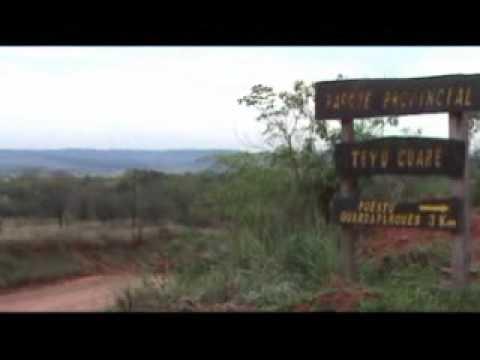 Parque Provincial Teyú Cuaré y Osununú - San Ignacio - Misiones